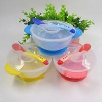 Baby Suction Bowl & Temperature Changing Spoon & Fork £1.59 delivered