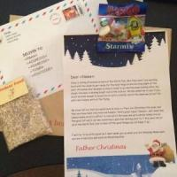 Personalised letter from Santa with Reindeer food & a treat only £2.79 delivered