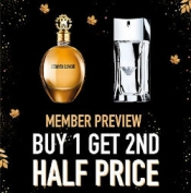 Buy One get One Half Price on everything + Free Delivery @ The Perfume Shop