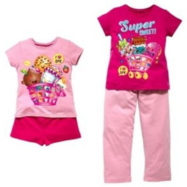 Shopkins Pjs 2 pack half price £7.49
