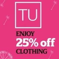 25% off everything @ Sainsburys TU Clothing