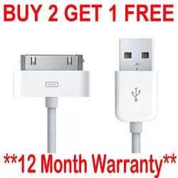 Genuine Apple Charger for iPhone 4,4S,3GS, iPod, iPad2&1 - £1.99 Delivered