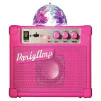 Pretty Pink Party Amp with Disco Ball £9.99 @ Argos