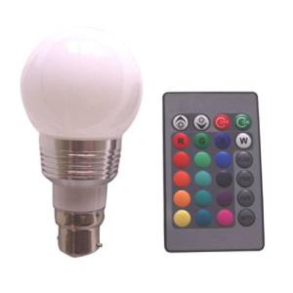 LED light bulb with remote £3.51 delivered