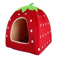 Strawberry design pet bed (small) £4.07 delivered