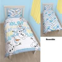 Frozen Olaf Single Rotary Duvet ONLY £3