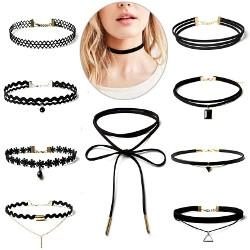 6 piece choker set (various designs) £1.32 delivered