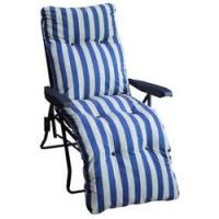 Metal Sun Lounger Chair with Cushion £17.49 @ Argos
