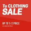 Half Price Sale @ Sainsburys TU Clothing