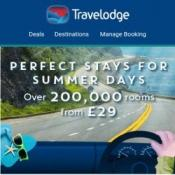 1 MILLION rooms from £29 @ Travelodge