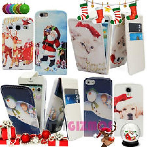 Christmas themed mobile phone cases (all makes) 99p delivered