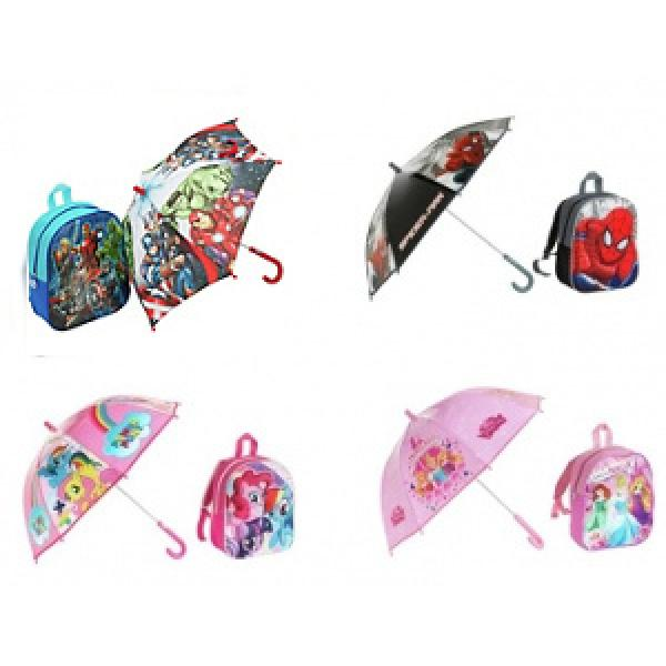 Kids bag & Umbrella sets - Half price £7.49 @ Argos