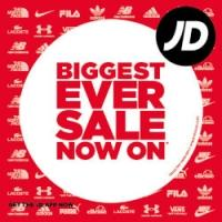 Up to 50% off Sale + 10% extra with code @ JD Sports