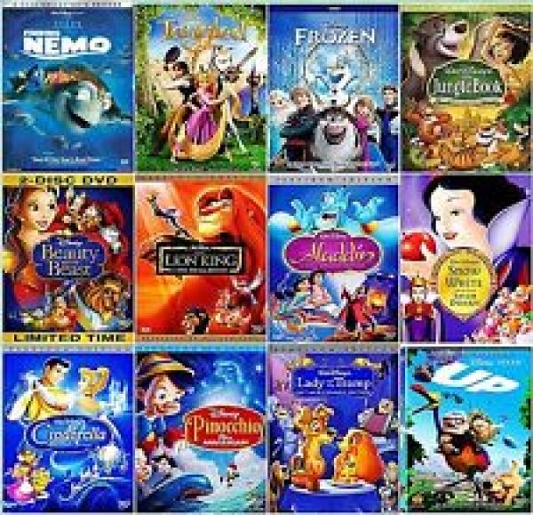 2 Disney DVDs £10.80 or 2 Disney Blu-Rays £13.50 delivered @ Zoom