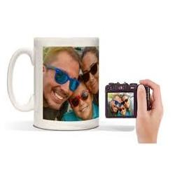 Personalised photo mug £2.78 delivered @ PrinterPix