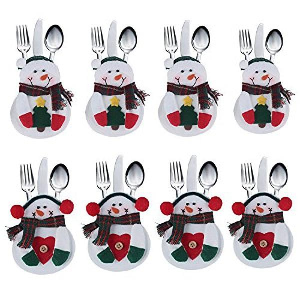 Snowman cutlery holders £3.32 delivered for 8 pieces