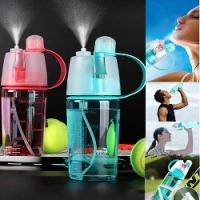 Water Bottle With Spray £4.09 @ eBay