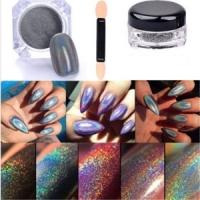 Holographic Glitter Nail Powder 99p delivered