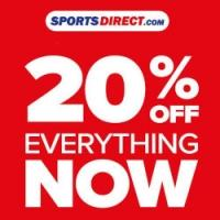 20% off all Full Priced orders @ Sports Direct