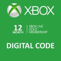 12 months of Xbox live gold only £25