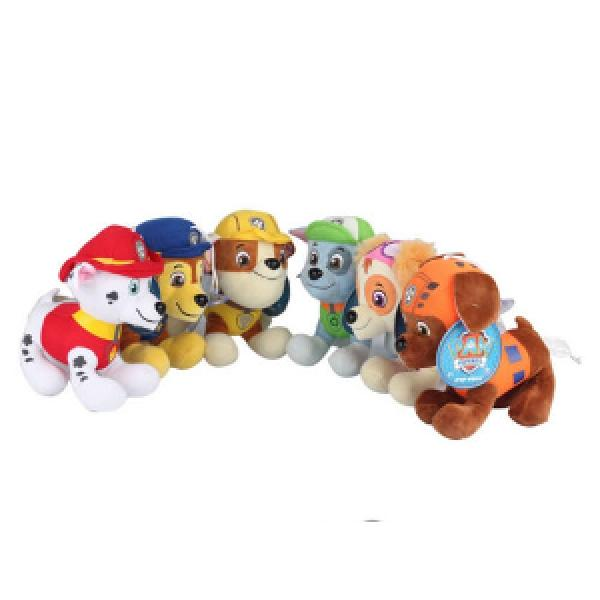 6 piece Paw Patrol soft toy set £7.78 delivered