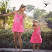 Mum & Daughter Matching Beach Dresses from £4 @ Matalan