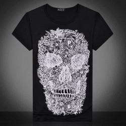 Men's Skull T-shirt £2.98 delivered @ Ebay