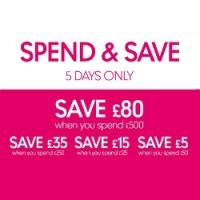 Spend and Save up to £80 @ Mothercare