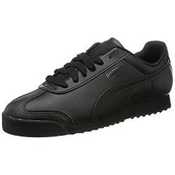 Puma Men's Roma Trainers Black/White £24 delivered @ Amazon