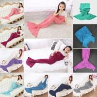 Mermaid Tail Blanket from Toddlers to adults from £6.36 delivered