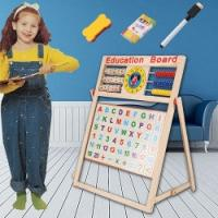 2 in 1 Wooden Educational Board Toy - £7.99 delivered @ eBay
