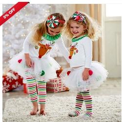 Girls Christmas TuTu Outfit Set £3.97 Delivered @ eBay
