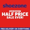 Half price Sale Now LIVE @ ShoeZone