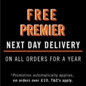 Free premier delivery for a year if you spend £10 @ BooHoo Man