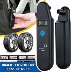 LCD Digital Tyre Air Pressure Gauge £1.65 Delivered